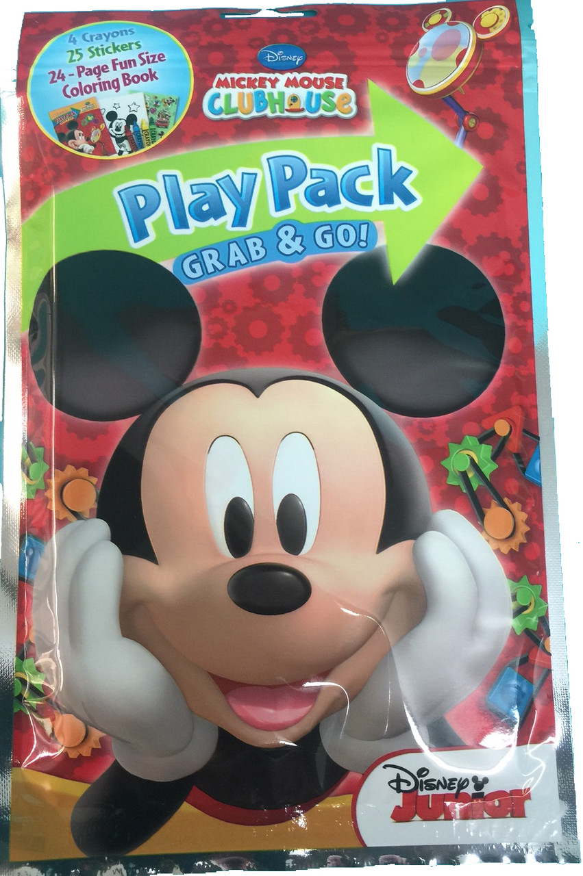 Play Pack - Mickey Mouse - Grab and Go - Party Favors - 1ct - Clubhouse