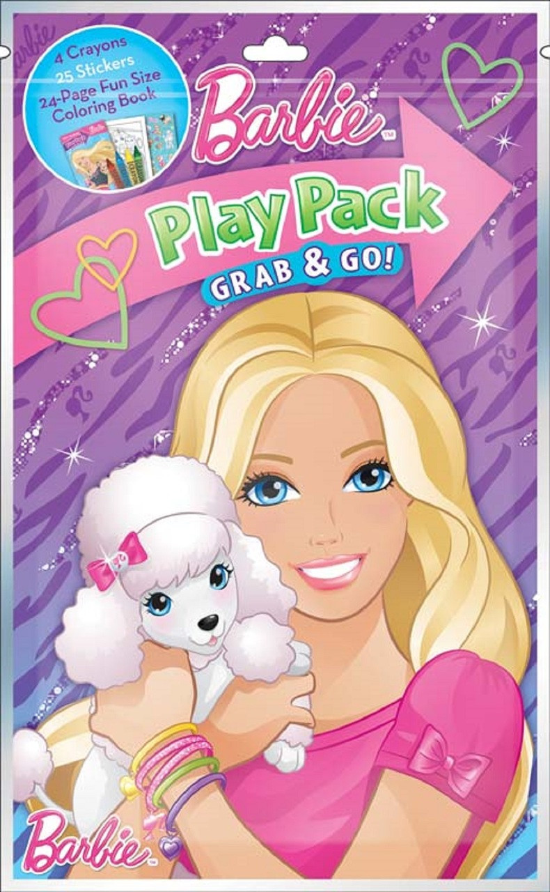 Barbie Grab N Go Play Pack Party Favors (1 pc)