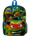 Teenage Mutant Ninja Turtles 16 Inch Large Backpack With Lunch Box