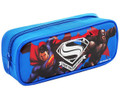 Pencil Case - Superman VS Batman - Blue