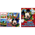 Mickey Mouse Clubhouse Pack of 8 Invitations  with Thank You Cards