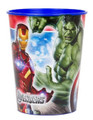 12X Avengers Assemble Plastic 16 Ounce Reusable Keepsake Favor Cup ( 12 Cups )