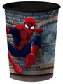 12X Spiderman Black Plastic 16 Ounce Reusable Keepsake Favor Cup ( 12 Cups )