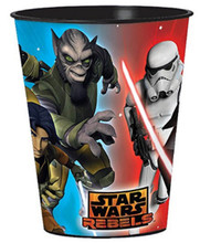 Star Wars Rebels Plastic 16 Ounce Reusable Keepsake Favor Cup (1 Cup)