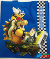 Mario Brothers Reusable Woven Shopping Grocery Bag Tote - Bowser