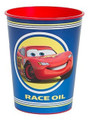 Cars Blue Plastic 16 Ounce Reusable Keepsake Favor Cup (1 Cup)
