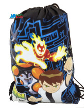 Drawstring Bag - Ben 10 Black Cloth String Bag