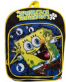 "Spongebob Squarepants Small Toddler 10"" Cloth Backpack Book Bag Pack - Black"