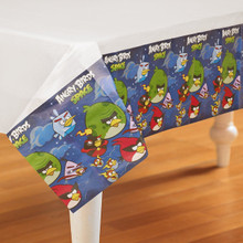 Angry Birds Space Table Cover Tablecloth Cloth Party Birthday - Blue