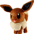 Pokemon Eevee 6 Inch Plush (Open Eyes)