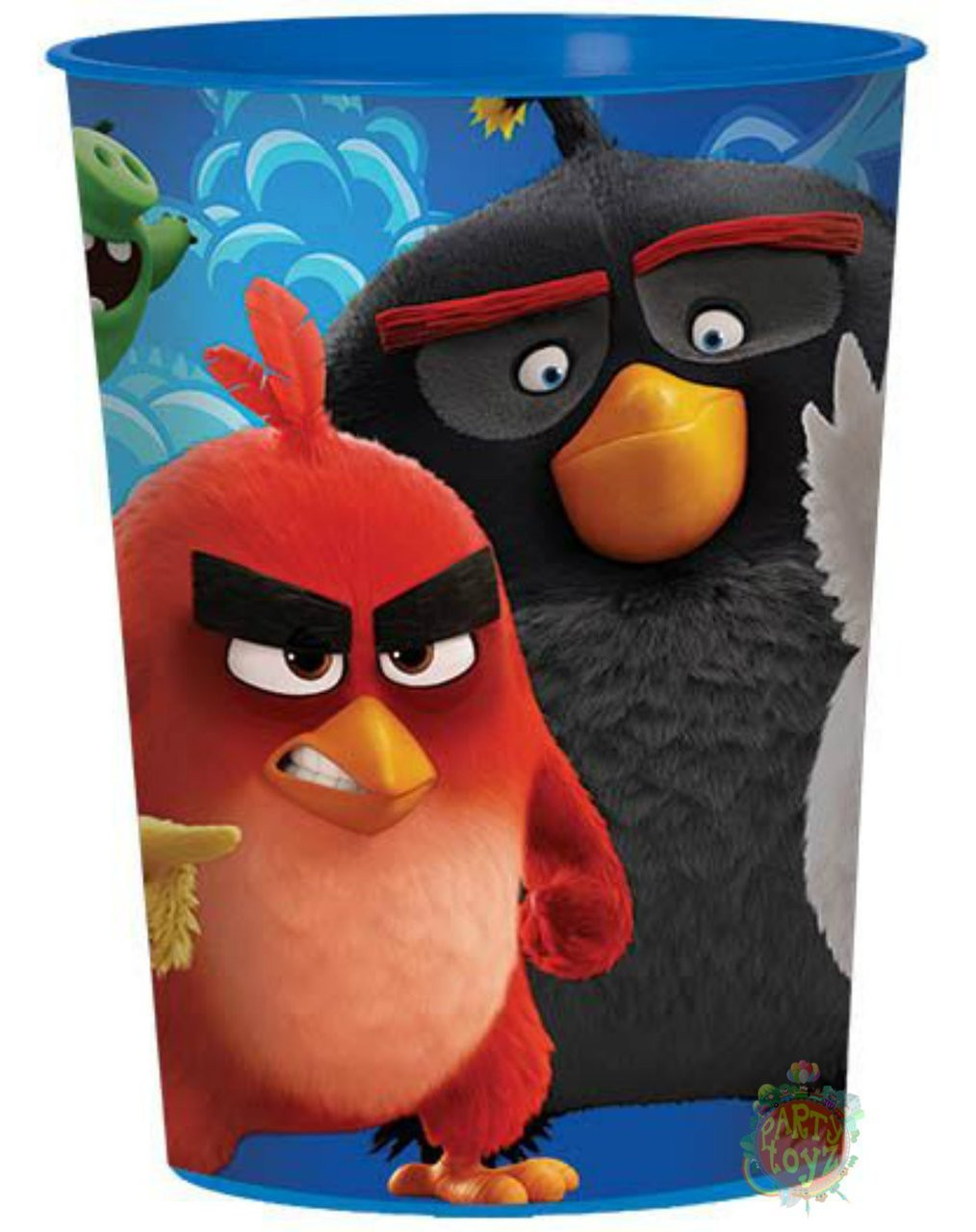 Angry Birds Movie Plastic 16 Ounce Reusable Keepsake Favor Cup (1 Cup)