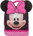 Minnie Mouse 3D Ears Dual Compartment Cloth Lunch Box - Pink