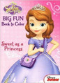 Sofia the First Jumbo 96 pg. Coloring and Activity Book - Sweet as a Princess
