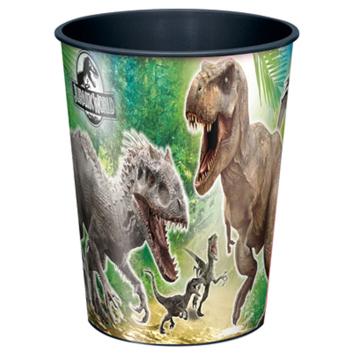 Jurassic World Plastic 16 Ounce Reusable Keepsake Favor Cup (1 Cup)