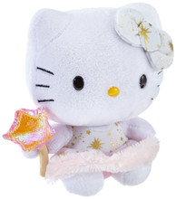 "Hello Kitty Small 6.5"" TY Beanie Baby Plush Toy - Angel"