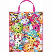 12X Shopkins Party Gift Favor Tote Bag (12 Bags)