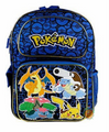 Pokemon 16 Inch Large Backpack - Blue / Pokeballs