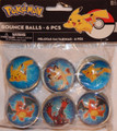 Pokemon Pack of 6 Bounce Balls