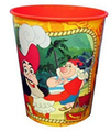 Jake and the Neverland Pirates Orange Plastic 16 Oz Reusable Keepsake Favor Cup