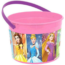 Disney's Princess Plastic Favor Bucket Container ( 1pc )