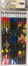 Batman Wooden Pencils Pack of 12- Dawn of Justice