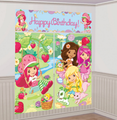 Strawberry Shortcake Giant Scene Setter Wall Decorating Kit