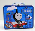Thomas the Train Square Carry All Tin Stationery Lunch Box Lunchbox - Blue