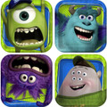 Monsters University Small 7 Inch Party Cake Dessert Plates - Mike And Sully