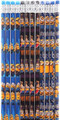 Minions Start, Kevin, Bob Blue/Black/Dark-blue Wooden Pencils Pack of 12