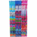 Trolls Wooden Pencils Pack of 12 - Pink/Purple/Blue