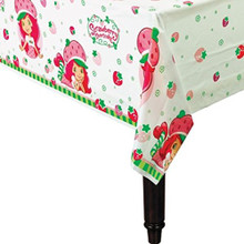 Strawberry Shortcake Plastic Tablecover Table Cover