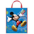 Mickey Mouse Plastic Party Tote Bag
