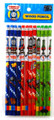 Thomas & Friends Blue/Red/Green Wooden Pencils Pack of 12