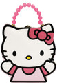 Hello Kitty Shape Tin Box Carry All