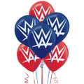 WWE Pack of 6 Latex Helium Quality Balloons