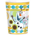 Frozen Fever Plastic 16 Ounce Reusable Keepsake Favor Cup (1 Cup)