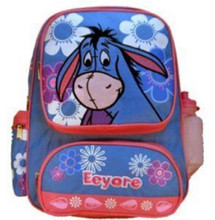 Eeyore Blue/Pink Large Backpack