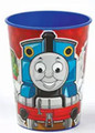 Thomas the Train Red Plastic 16 oz Reusable Keepsake Souvenir Cup (1 Cup)