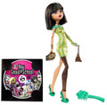 "Monster High ""Dawn of the Dance"" Cleo De Nile Plastic Doll with DVD Accessories"