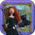 Merida Brave Princess 9 Inch Dinner Large Plates Party Birthday