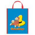 12X Curious George Party Gift Favor Tote Bag (12 Bags)