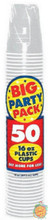 Big Party Pack 16 oz Plastic Cups - Silver