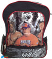 "WWE John Cena Batista Triple H Large 16"" Cloth Backpack Book Bag Pack - Red"
