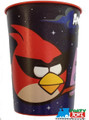 12X Angry Birds Space Plastic 16 Ounce Reusable Keepsake Favor Cup ( 12 Cups )