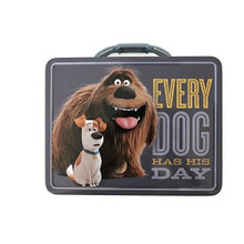 The Secret Life Of  Pets Lunch Box Tin Box -Every Dog Has His Day