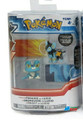 "Pokemon 2-Pk Small 2"" Toy Plastic Action Figure - Froakie vs. Luxio"