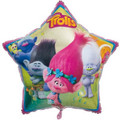 Trolls Movie 34 Inch Star  Foil Helium Metallic Balloon