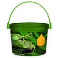 Camoflauge Plastic Favor Bucket Container ( 1pc )