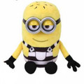 "Despicable Me 3 Tom TY Beanie Baby 8"" Inch Plush"