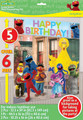 Sesame Street Giant Scene Setter Wall Decorating Kit